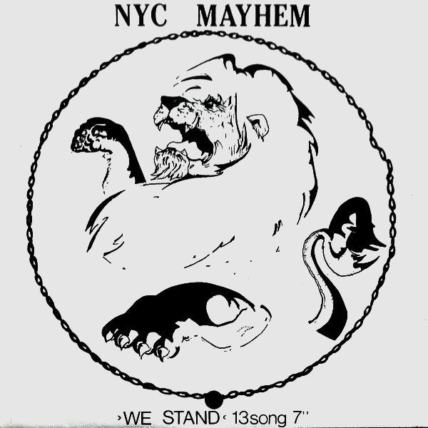 "NYC Mayhem - We Stand 13Song 7"" (7"", Unofficial, W/Lbl) - USED"