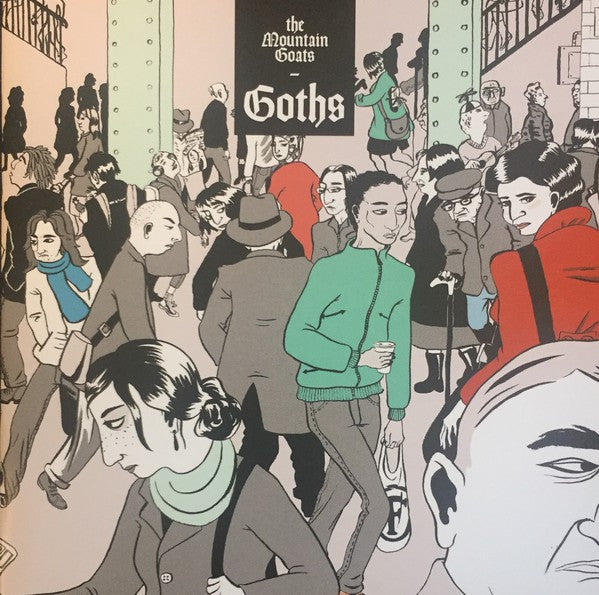 The Mountain Goats - Goths (CD, Album) - NEW