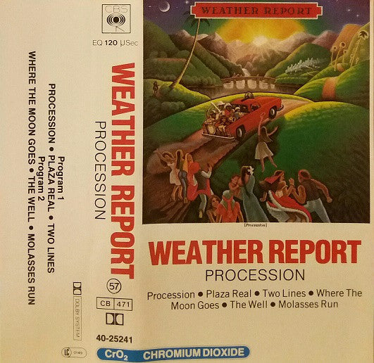 Weather Report - Procession (Cass, Album) - USED
