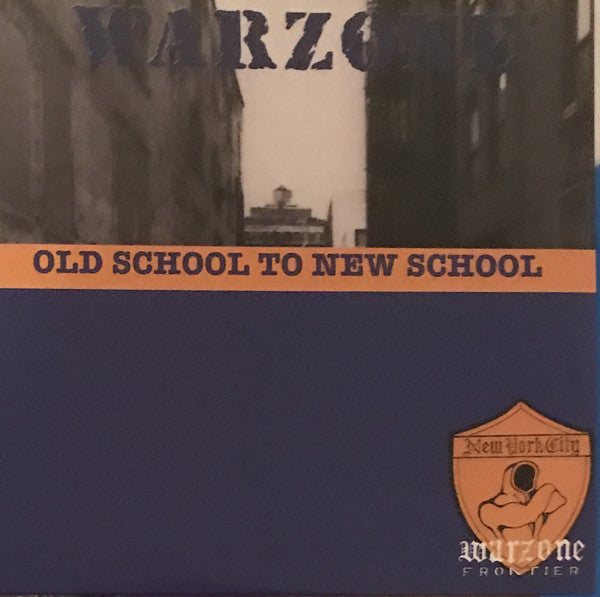 Warzone (2) - Old School To New School (LP, Album, RE, Blu) - NEW