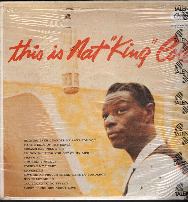 "Nat King Cole - This Is Nat ""King"" Cole (LP, Album, RE) - USED"