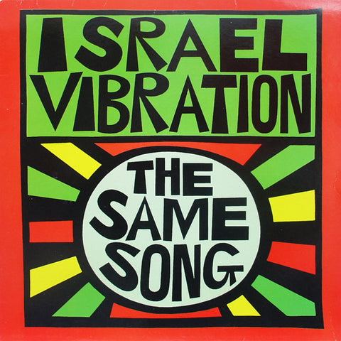 Israel Vibration - The Same Song (CD, Album) - USED