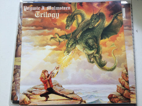Yngwie J. Malmsteen* - Trilogy (CD, Album, RP) - USED
