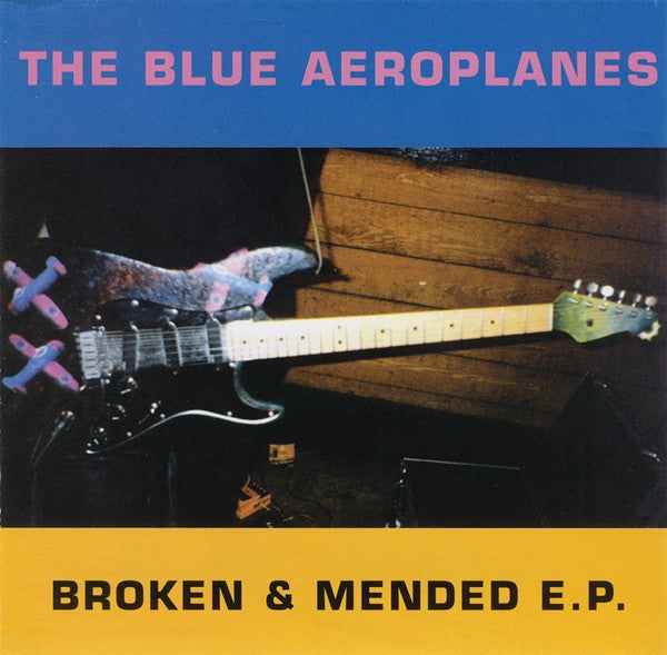 The Blue Aeroplanes - Broken & Mended E.P. (CD, EP) - USED