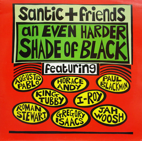 Various - Santic + Friends (An Even Harder Shade Of Black) (CD, Album) - USED