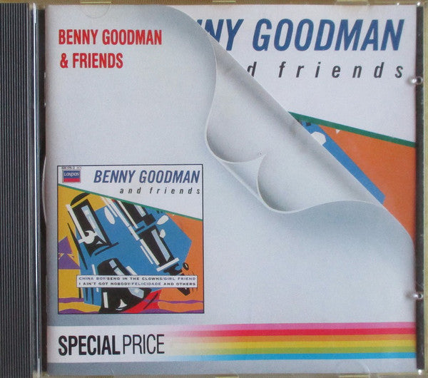 Benny Goodman & Friends - Benny Goodman & Friends (CD, RE) - USED