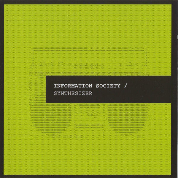 Information Society - Synthesizer (CD, Album) - USED