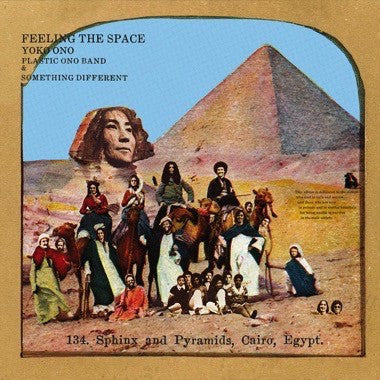 Yoko Ono with Plastic Ono Band* & Something Different - Feeling The Space (LP, Ltd, Whi) - NEW