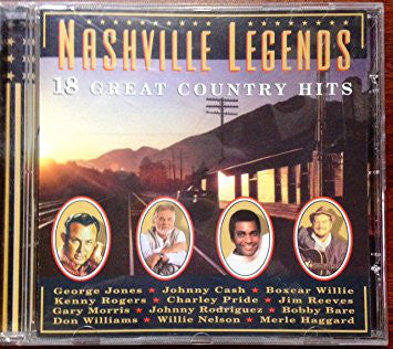 Various - Nashville Legends (CD, Album, Comp) - USED
