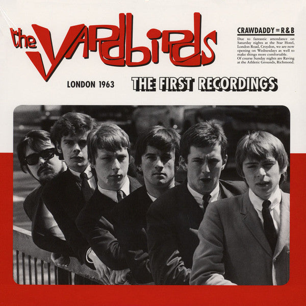 The Yardbirds - London 1963 - The First Recordings! (LP, Album, RE, RM, 180) - NEW