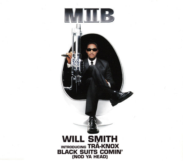 Will Smith Introducing Trā-Knox* - Black Suits Comin' (Nod Ya Head) (CD, Maxi) - USED