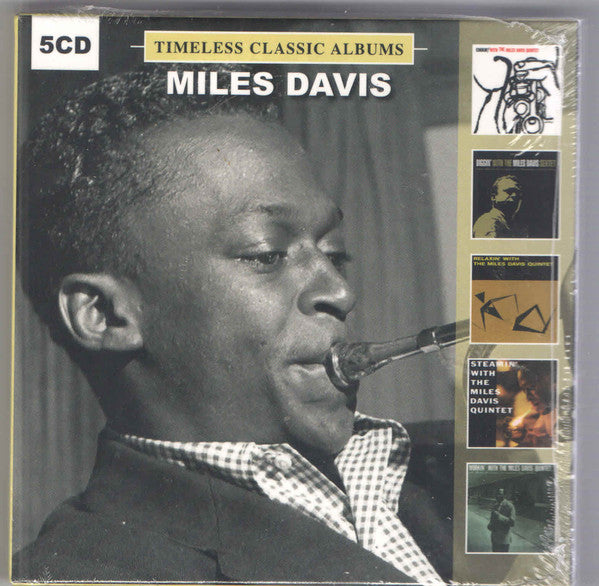 Miles Davis - Timeless Classic Albums (5xCD, Album, RE + Box, Comp) - NEW