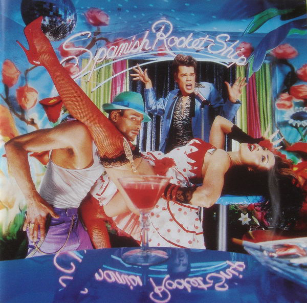 Buster Poindexter - Buster's Spanish Rocket Ship (CD, Album) - USED
