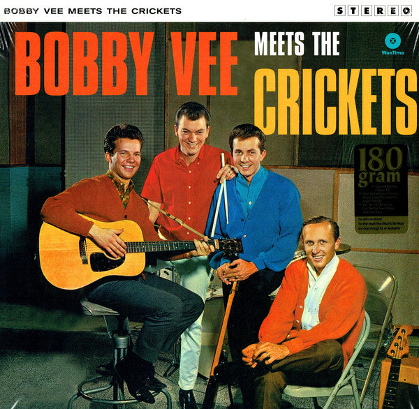 Bobby Vee and The Crickets (2) - Bobby Vee Meets The Crickets (LP, Album, Ltd, RE, 180) - NEW