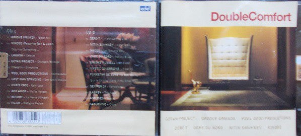 Various - Doublecomfort (2xCD, Comp) - USED