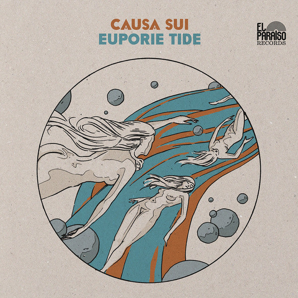 Causa Sui - Euporie Tide (2xLP, Album, Ltd, RE, Ora) - NEW