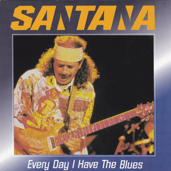 Santana - Every Day I Have The Blues (CD, Comp) - USED