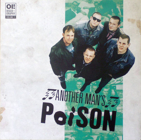 Another Man's Poison - Oi! Discography Volume 1 (LP, Comp, Ltd) - NEW