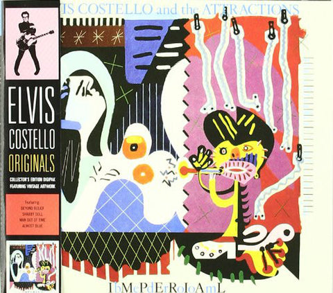 Elvis Costello And The Attractions* - Imperial Bedroom (CD, Album, RE, Dig) - NEW