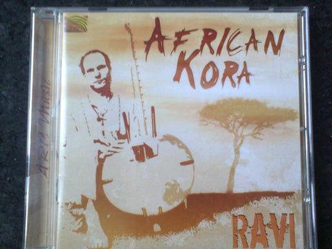 Ravi (4) - African Kora (CD, Album) - USED