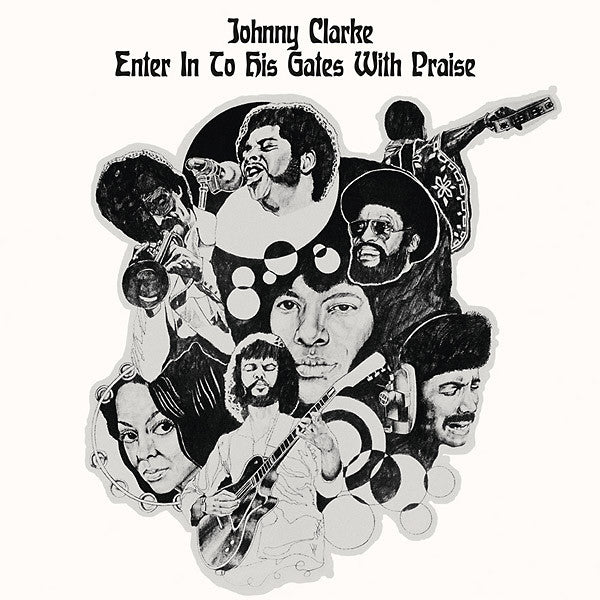 Johnny Clarke - Enter Into His Gate With Praise (LP, Album, RP) - NEW