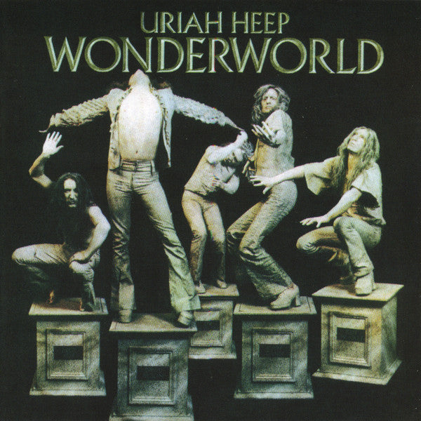 Uriah Heep - Wonderworld  (CD, Album, RE, RM, Exp) - USED