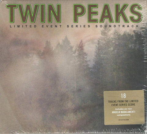 Various - Twin Peaks: Limited Event Series Soundtrack (CD, Album, Dig) - USED