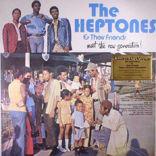 Various - The Heptones & Their Friends - Meet The Now Generation! (LP, Comp, Ltd, Num, RE, Ora) - NEW
