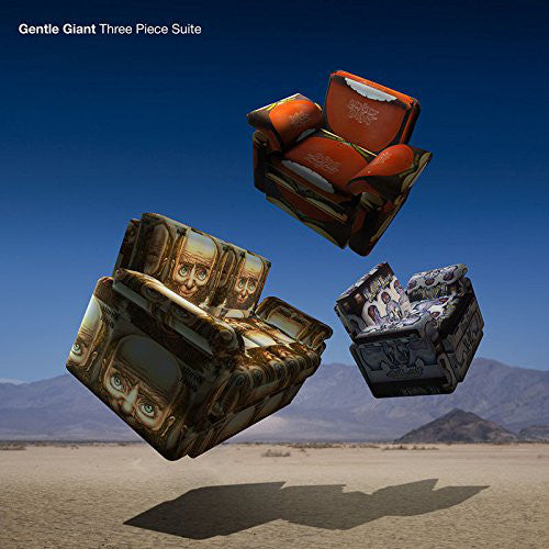 Gentle Giant - Three Piece Suite (CD, Comp, Dig) - USED