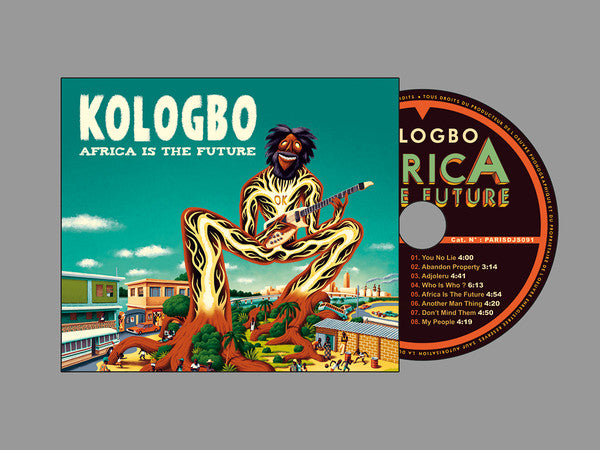 Kologbo* - Africa Is The Future (CD, Album, Dig) - NEW