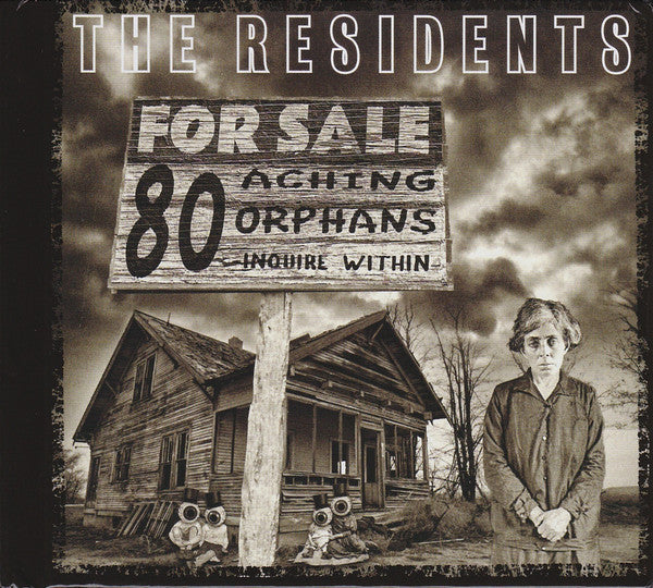 The Residents - 80 Aching Orphans (4xCD, Comp) - NEW