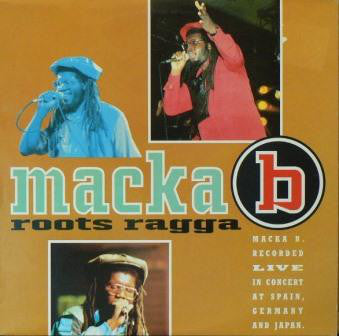 Macka B - Roots Ragga (LP, Album) - USED