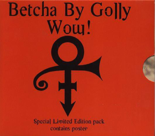 The Artist (Formerly Known As Prince) - Betcha By Golly Wow! / Right Back Here In My Arms (CD, Single, Ltd, S/Edition, Pos) - USED