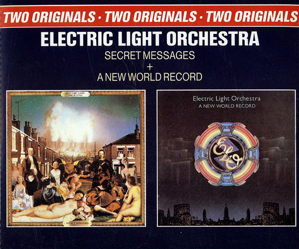 Electric Light Orchestra - Secret Messages + A New World Record (2xCD, Comp) - USED
