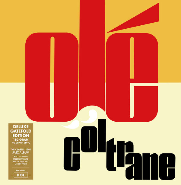 John Coltrane - Olé Coltrane (LP, Album, RE, 180) - NEW