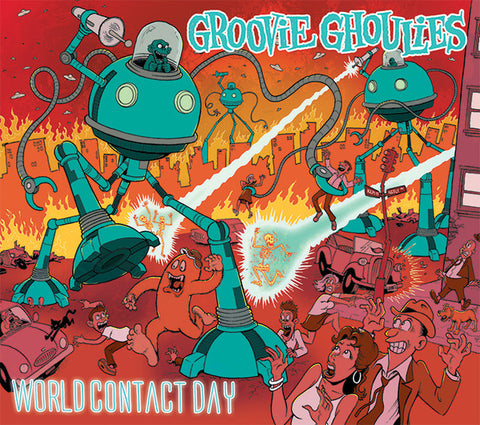Groovie Ghoulies - World Contact Day (CD, Album, RE) - NEW