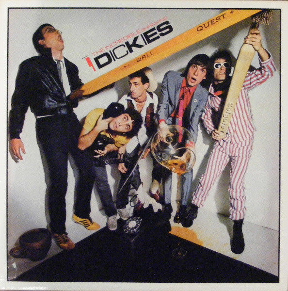 Dickies* - The Incredible Shrinking Dickies (LP, Album, Yel) - USED