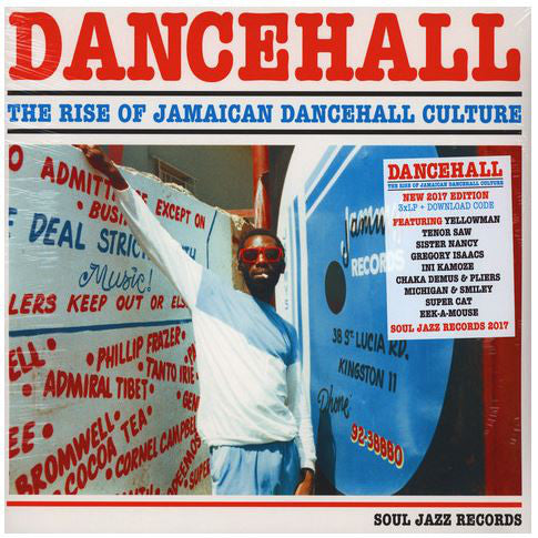 Various - Dancehall (The Rise Of Jamaican Dancehall Culture) 2017 Edition (3xLP, Comp) - NEW