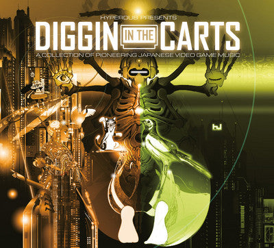 Various - Diggin In The Carts (A Collection Of Pioneering Japanese Video Game Music) (CD, Comp) - NEW