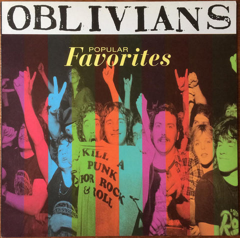 Oblivians - Popular Favorites (LP, Album, RE) - NEW