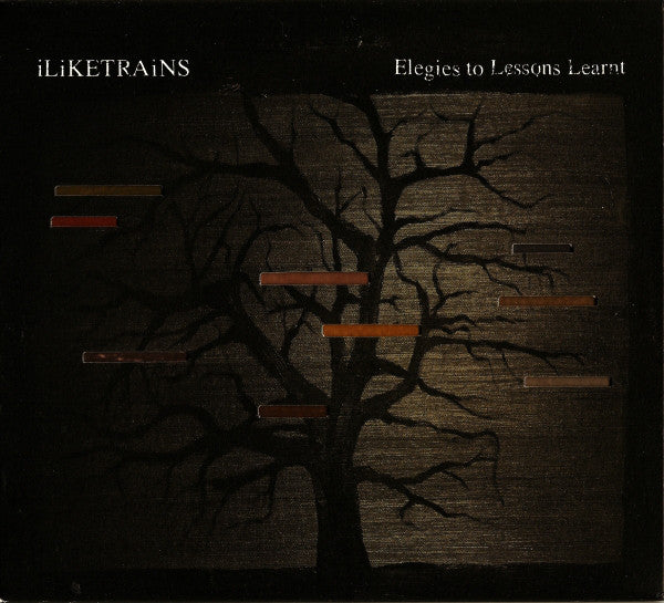 iLiKETRAiNS - Elegies To Lessons Learnt (CD, Album, Dig) - USED