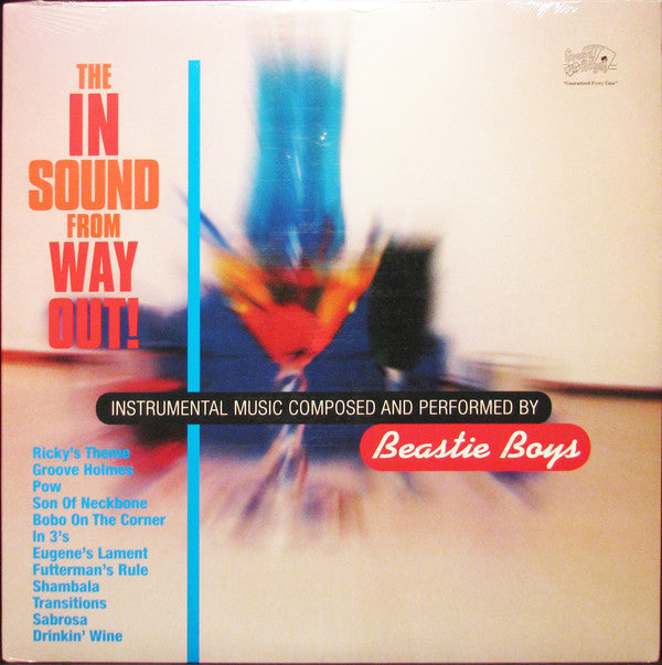 Beastie Boys - The In Sound From Way Out! (LP, Comp, RE, 180) - NEW