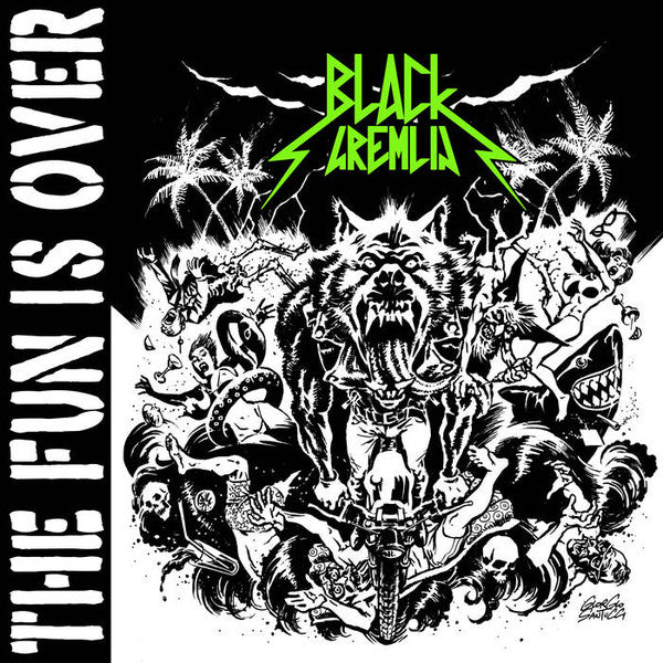 Black Gremlin - The Fun Is Over (LP, Album) - NEW