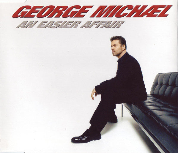 George Michael - An Easier Affair (CD, Single) - USED