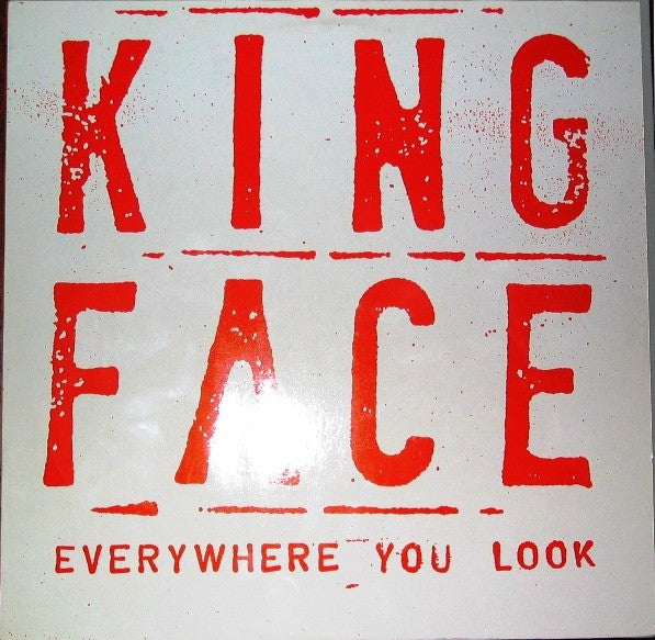 King Face - Everywhere You Look (LP) - USED