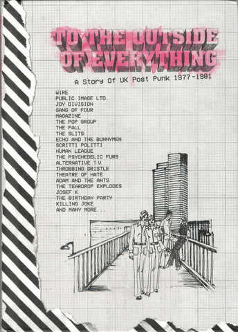 Various - To The Outside Of Everything - A Story Of UK Post Punk 1977 - 1981 (5xCD, Comp + Box) - NEW