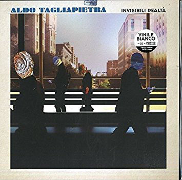 Aldo Tagliapietra - Invisibili Realtà (LP, Album, Ltd, Num, Whi + CD, Album) - NEW