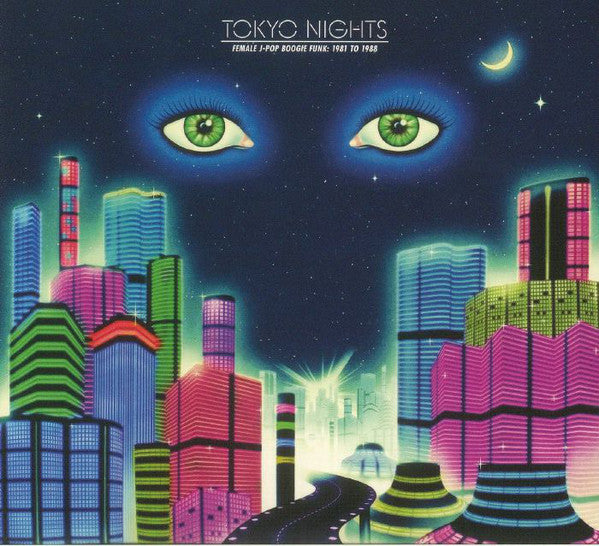 Various - Tokyo Nights (Female J-Pop Boogie Funk: 1981 To 1988) (CD, Comp) - NEW
