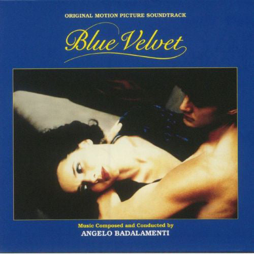 Angelo Badalamenti - Blue Velvet (Original Motion Picture Soundtrack) (CD, Album, RE) - NEW