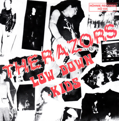 "The Razors* - Low Down Kids (7"", EP, RE, Bla) - NEW"